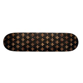 ROYAL1 BLACK MARBLE & BROWN STONE (R) SKATE BOARDS