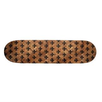 ROYAL1 BLACK MARBLE & BROWN STONE SKATEBOARDS