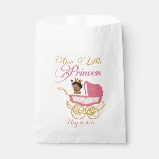 Royal African Princess favor bags