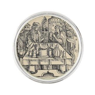 Royal Alchemist in the Castle Lapel Pin