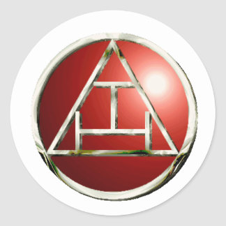 Royal Arch Products Classic Round Sticker