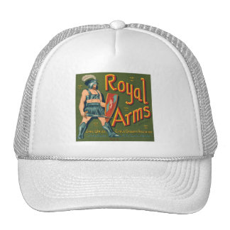 Royal Arms Fruit Crate Label Trucker Hat