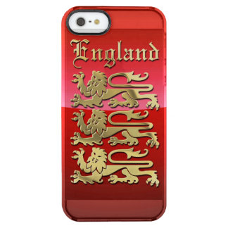 Royal Arms of England Clear iPhone SE/5/5s Case