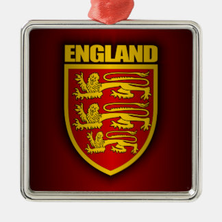 Royal Arms of England Metal Ornament