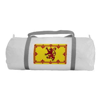 Royal Arms of Scotland Flag Pattern Gym Duffel Bag
