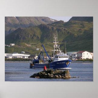 Royal Atlantic, Fishing Trawler in Dutch Harbor Poster
