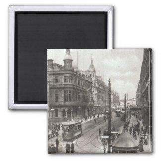 Royal Avenue, Belfast, c.1900 Square Magnet