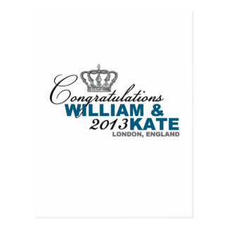 Royal Baby 2013: Congratulations William & Kate Postcard