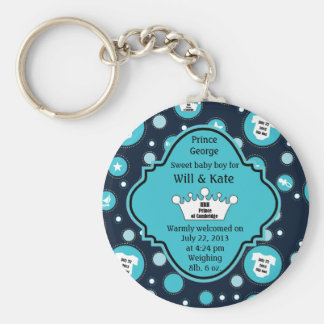 Royal Baby Boy for William and Catherine 2013 Key Ring