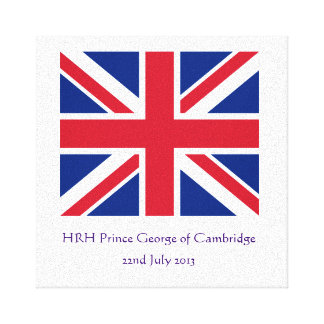 Royal Baby Canvas Canvas Print