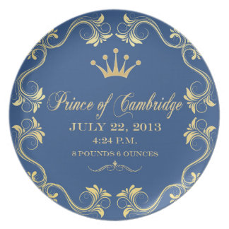 Royal  Baby Commemorative Plate 2013