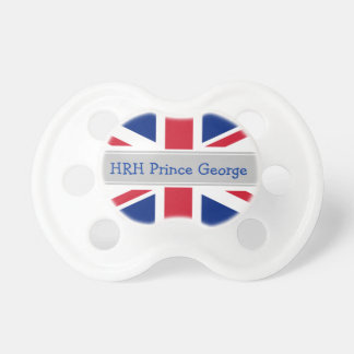 Royal Baby Prince George dummy Pacifiers