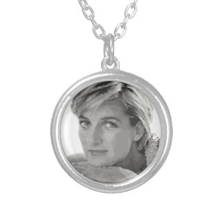 Royal baby. Prince William and Catherine. Silver Plated Necklace