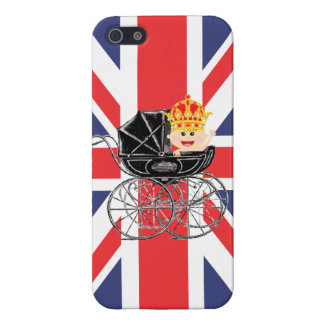 Royal Baby with Crown and Union Jack iPhone 5/5S Cases