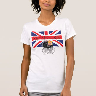 Royal Baby with Crown and Union Jack T-shirt