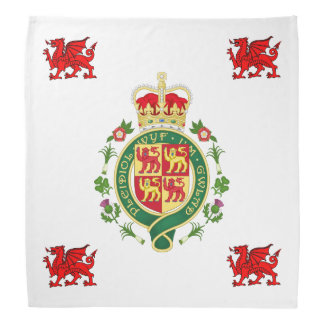 Royal Badge of Wales Bandana