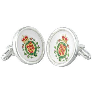 Royal Badge of Wales Cuff Links