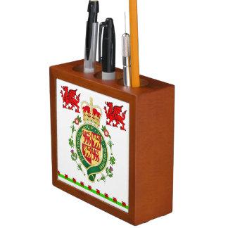 Royal Badge of Wales Desk Organiser