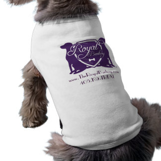 Royal Barkery Sleeveless Dog Shirt