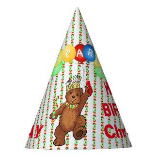 Royal Bear Custom 1st Birthday Party Hat
