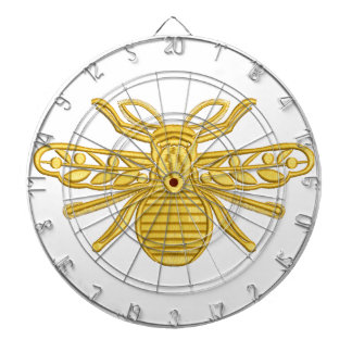 royal bee, imitation of embroidery dartboard
