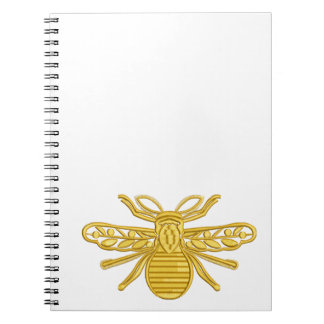 royal bee, imitation of embroidery notebook