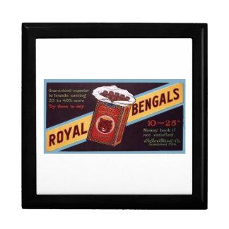 Royal Bengals Large Square Gift Box