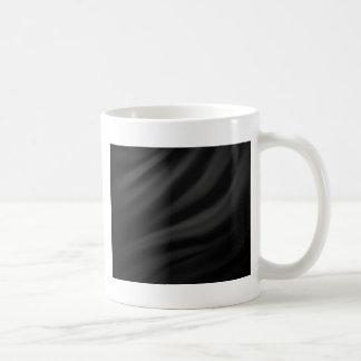 Royal black velvet silk textile elegant chic coffee mug
