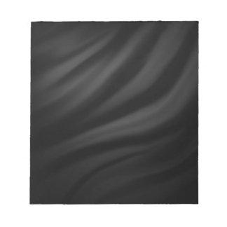 Royal black velvet silk textile elegant chic scratch pad