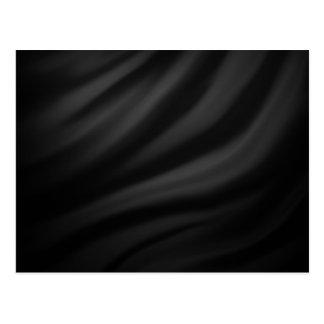 Royal black velvet silk textile elegant chic postcards
