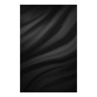 Royal black velvet silk textile elegant chic stationery design