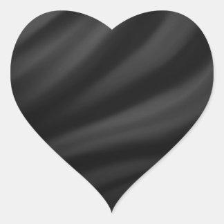 Royal black velvet silk textile elegant chic sticker