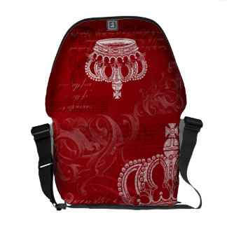 Royal Bloodline - Red Commuter Bags