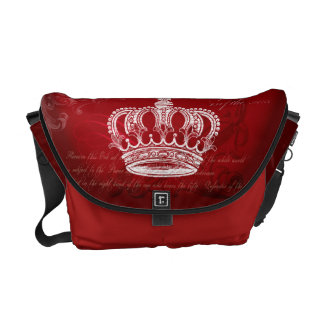 Royal Bloodline - Red Courier Bag