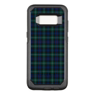 Royal Blue and Green Clan Mackenzie Scottish Plaid OtterBox Commuter Samsung Galaxy S8 Case