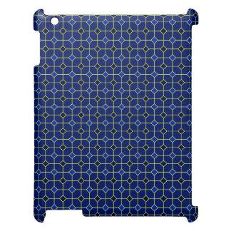 Royal Blue Antique Tiles Design Case iPad Case