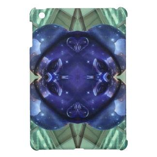 Royal Blue Aquamarine Modern Artistic Abstract iPad Mini Cases