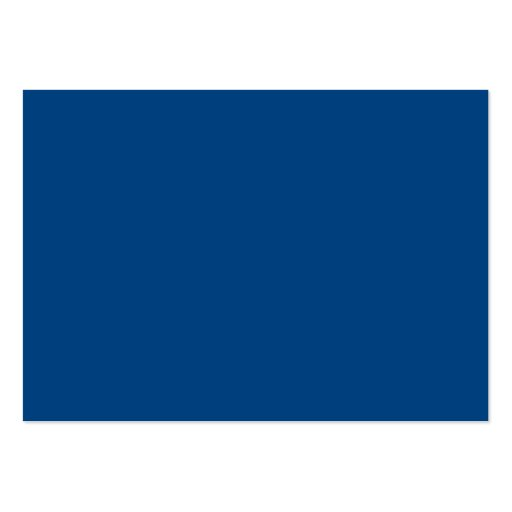 Royal Blue Color Only Custom Design Products Business Card Template