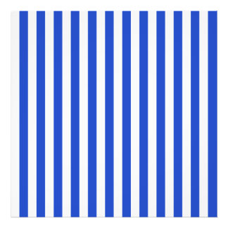 Royal Blue Combination Stripes Photo