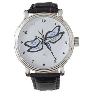 Royal Blue Dragonfly Watch
