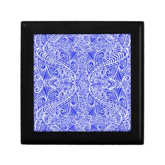 Royal Blue Elegant flow Gift Box