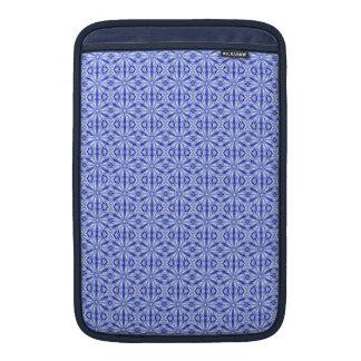 Royal Blue Fractal Pattern 11 Inch Sleeve For MacBook Air