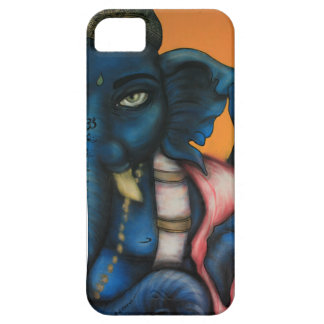 Royal Blue Ganesha Case For The iPhone 5