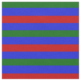 royal blue, island green, red stipe, stripes fabric