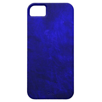 Royal Blue Leather Case For The iPhone 5