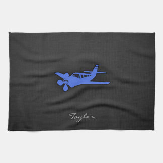 Royal Blue Small Plane Hand Towel