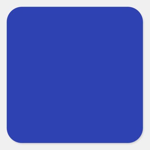 Royal Blue   Square Sticker