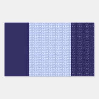 Royal Blue: Two-toned Pattern Sticker