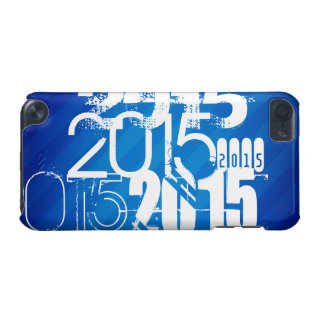 Royal Blue & White Class of 2015 iPod Touch 5G Cases