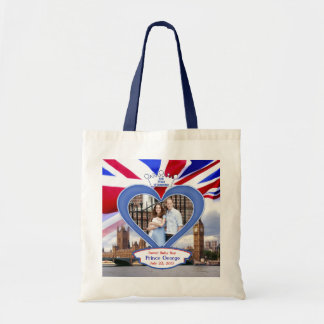 Royal British Baby Prince George Budget Tote Bag